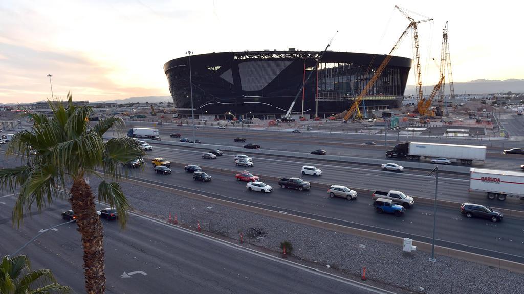 In Vegas entsteht gerade ein neues Hightech-Stadion