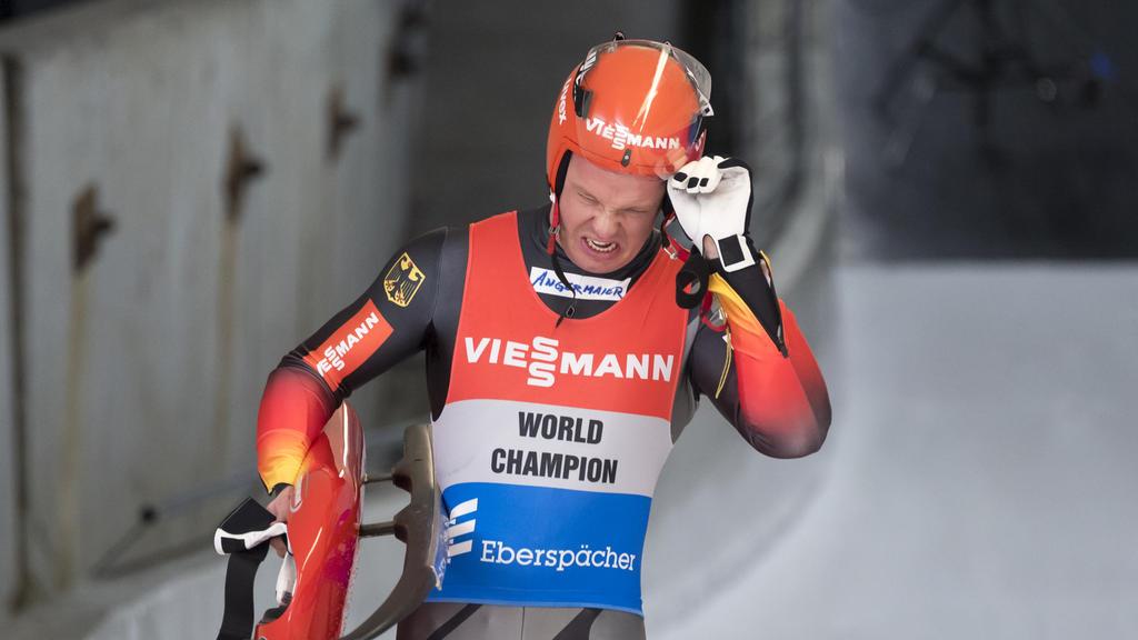 Musste bei der WM in Sochi die nächste Niederlage einstecken: Rodler Felix Loch