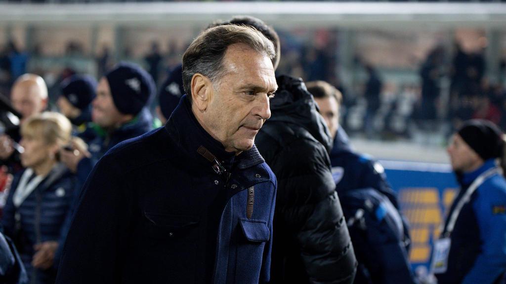 """意大利足球老板希望取消赛季在""""瘟疫"""""""