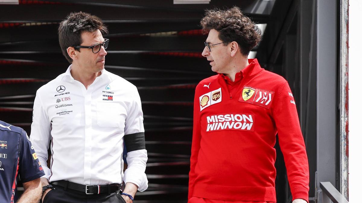 Formel 1 Fia Ferrari Deal Kein Thema Mehr Für Toto Wolff