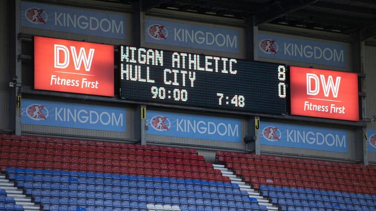 Wigan Athletic fegte Hull City vom Platz