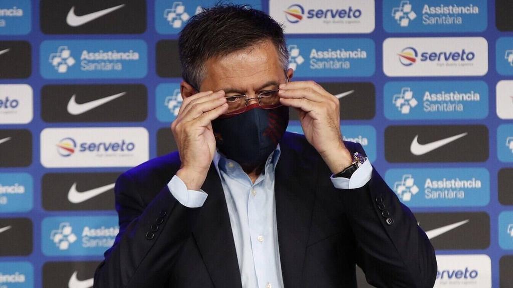 Josep Maria Bartomeu steht beim FC Barcelona in der Kritik