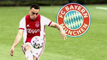 Sergino Dest soll sich mit dem FC Bayern einig sein