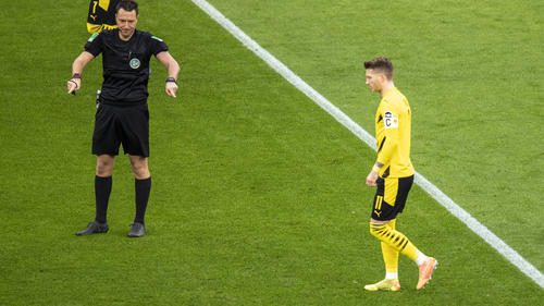 BVB-Kapitän Marco Reus vergab vom Punkt