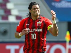 Hulk spielte fünf Jahre für Shanghai SIPG