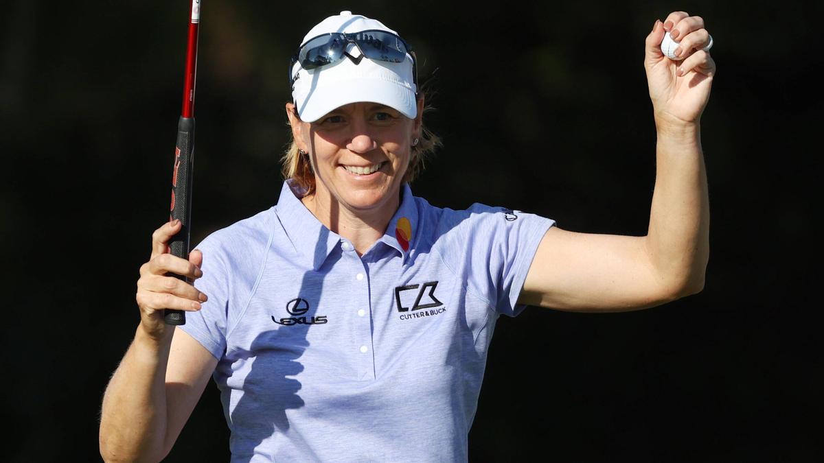 Annika Sörenstam lässt ihre alte Klasse aufblitzen