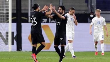 Das DFB-Team startete mit einem Sieg in die WM-Qualifikation
