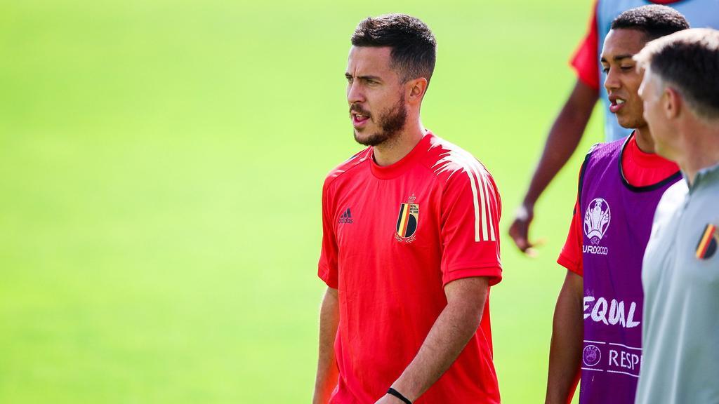Eden Hazard will mit der belgischen Nationalmannschaft angreifen