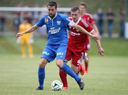 Der SV Grödig hatte beim Cupspiel in Leobendorf keine Probleme
