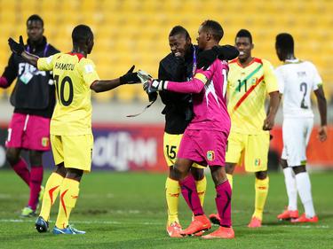Mali se metió en los cuartos de final con una goleada 3-0 a Ghana. (Foto: Getty)