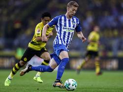 Mitchell Weiser könnte gegen Leverkusen wieder eine Option sein