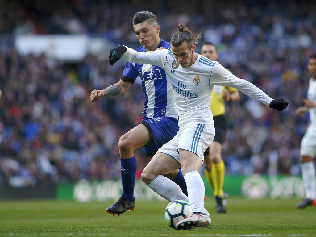 Gareth Bale war der Mann des Tages bei den Königlichen