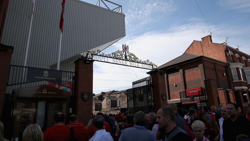 An der Anfield Road kommen künftig nicht nur Fußball-Fans auf ihre Kosten