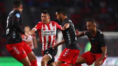 Unaufhaltsam? Hirving Lozano und der PSV werden in der Eredivisie gejagt