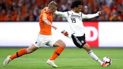 Wartet weiter auf mehr Einsatzzeiten im DFB-Team: Leroy Sané