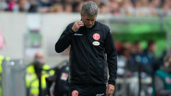 Erwartet Siege in der Bundesliga: Friedhelm Funkel