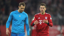 Bayern-Kapitän Manuel Neuer (l.) will mit seiner Mannschaft in der Rückrunde angreifen