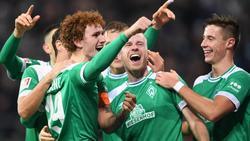 Joshua Sargent erzielte gegen Düsseldorf das 3:1