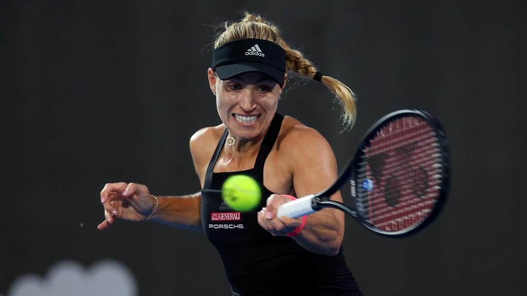 Angelique Kerber bereitet sich mit Vorfreude auf die Australian Open vor