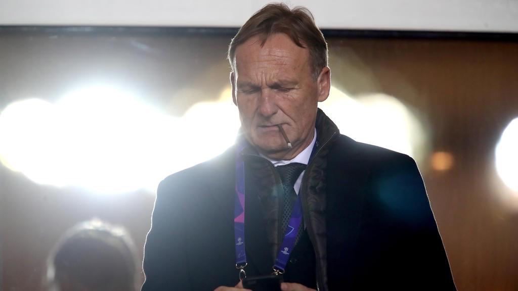 Hans-Joachim Watzke unterstrich das gute Verhältnis zum FC Bayern