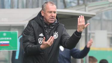 Michael Feichtenbeiner sah die zweite Niederlage seiner Mannschaft
