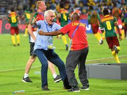 Hugo Broos llevó a Camerún al título continental. (Foto: Getty)