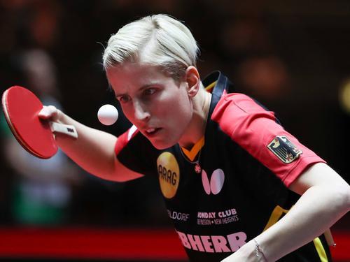 Kristin Silbereisen hat das Achtelfinale der WM erreicht