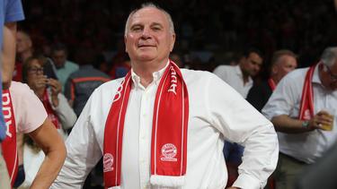 Bayern-Präsident Uli Hoeneß sympathisiert mit dem 1. FC Union Berlin