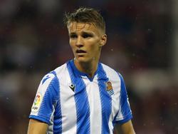 Martin Ødegaard könnte für Real Sociedad gegen Real Madrid spielen