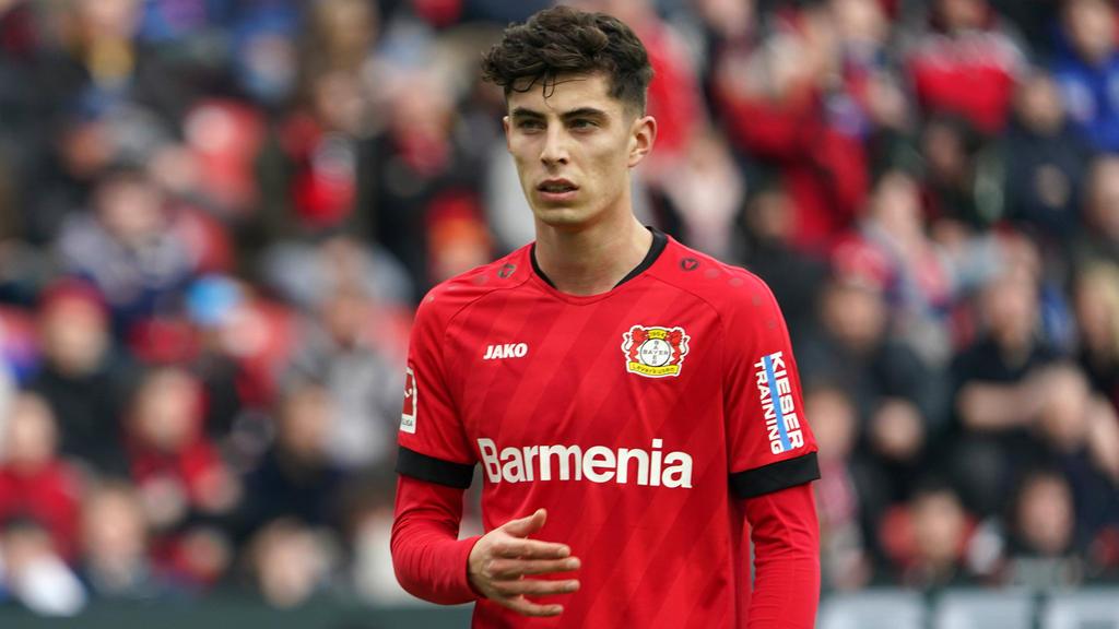 Für Kai Havertz ist ein Abgang bei Bayer 04 Leverkusen derzeit nicht allzu vielversprechend