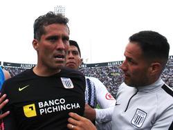 Leao Butrón tras un duelo con Alianza de Lima.