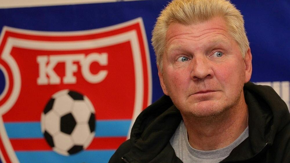 Stefan Effenberg verlässt den KFC Uerdingen auf eigenen Wunsch