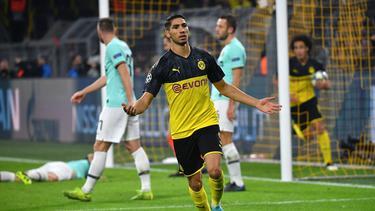 BVB-Star Achraf Hakimi erzielte gegen Inter Mailand zwei Tore