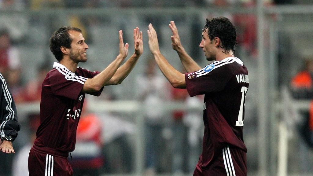 Einst Weggefährten beim FC Bayern: Mehmet Scholl (l.) und Mark van Bommel