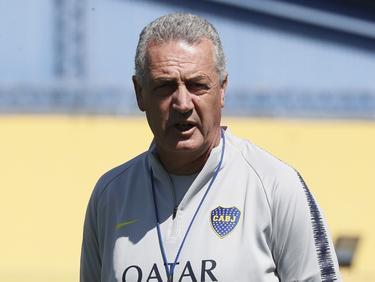 Gustavo Alfaro en su etapa en Boca Juniors.