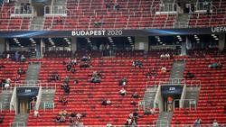 Beim Supercup in Budapest wurden die Sicherheitsvorkehrungen nicht immer eingehalten