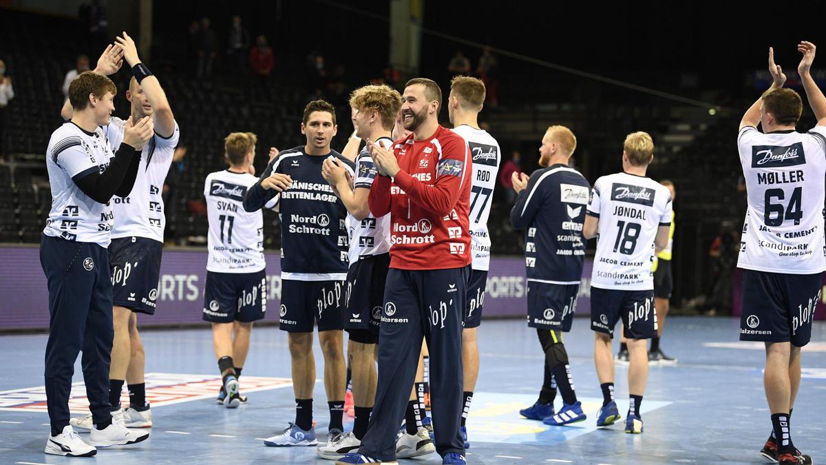 Die SG  Flensburg-Handewitt hat den dritten Sieg im dritten CL-Spiel gefeiert