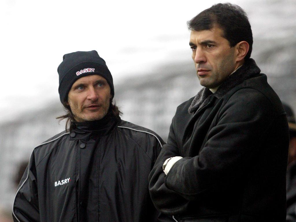 Alfred Tatar und Rashid Rachimov waren auch bei der Admira ein Trainerteam