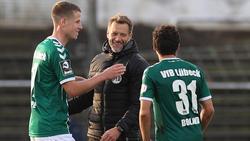 Der VfB Lübeck muss seine Partie gegen Waldhof Mannheim noch nachholen