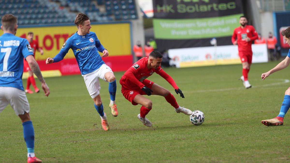 1. FC Kaiserslautern verliert in der 3. Liga gegen Hansa Rostock