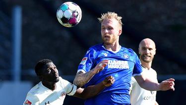 Der KSC und der FC St. Pauli trennten sich torlos