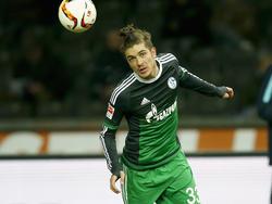 Neustädter con el Schalke en la Bundesliga. (Foto: Getty)