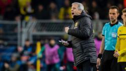 BVB-Coach Lucien Favre war sehr enttäuscht