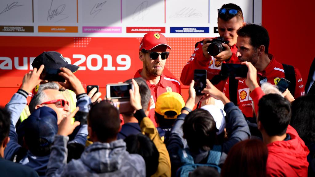 Sebastian Vettel nimmt den WM-Titel ins Visier