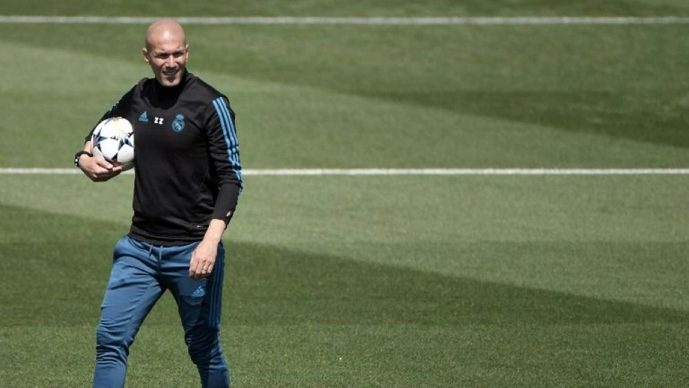 Real Madrid: Zidane wieder auf dem Trainingsplatz