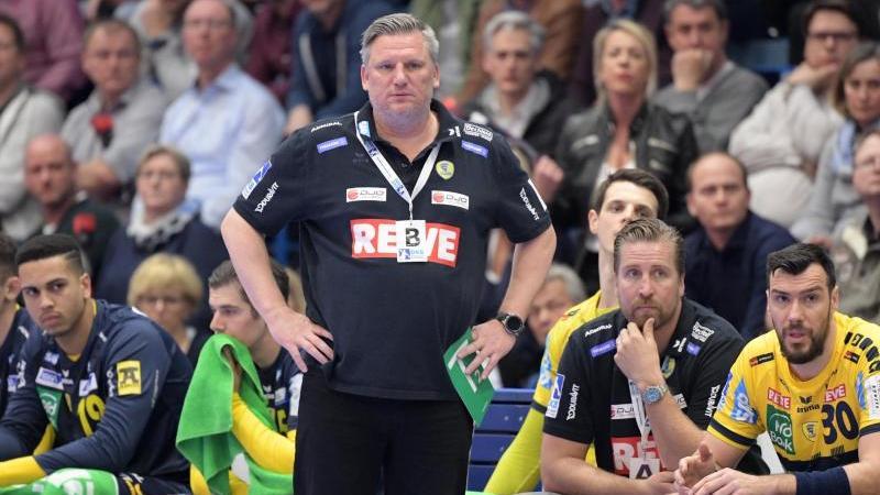 Löwen-Trainer Nikolaj Jacobsen war nach der Pleite gegen Gummersbach angefressen