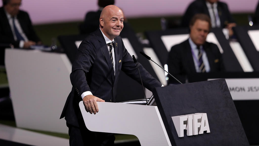 Image result for Gianni Infantino re-elected FIFA president