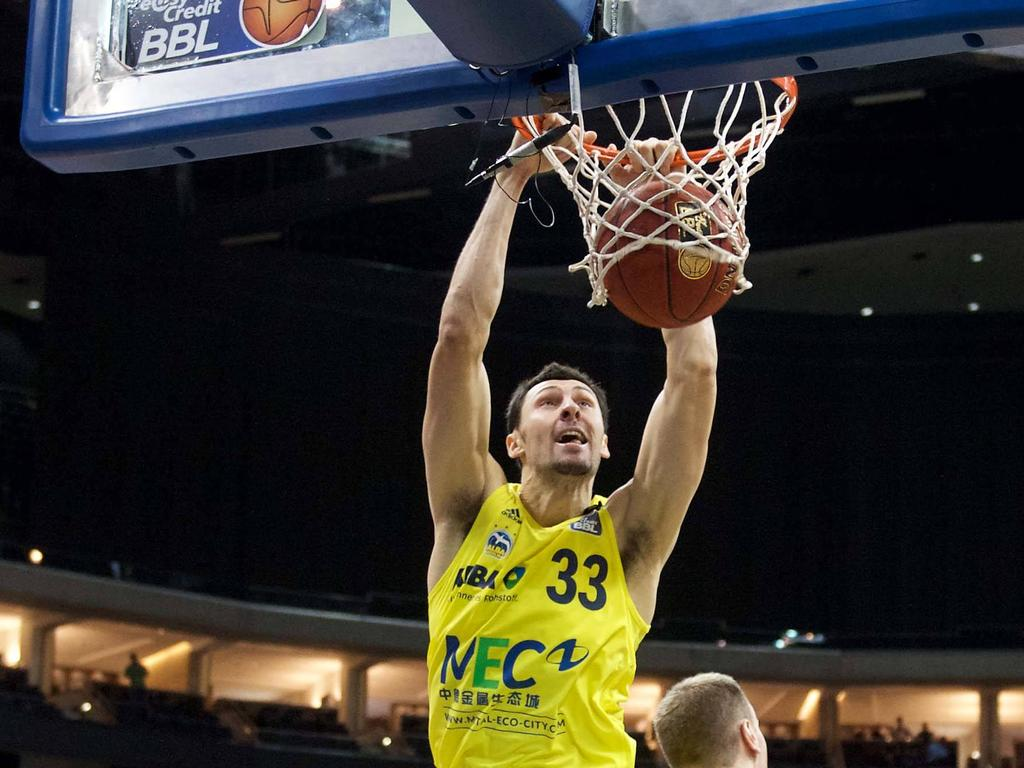 Brian Qvale war mit 21 Punkte Top-Scorer der Oldenburger