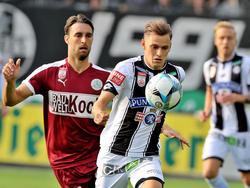 Sturm Graz gegen SV Mattersburg