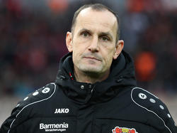 Hat mit Leverkusen die Europacup-Plätze im Blick: Bayer-Coach Heiko Herrlich